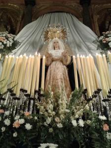 Iglesia de la Santísima Trinidad. Virgen del Rosario