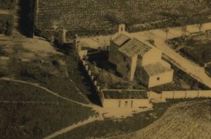 Imagen de la ermita de mediados del siglo XX