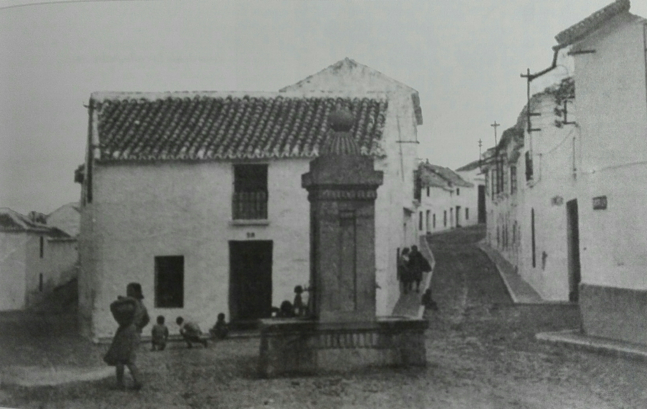Plazuela San Lorenzo antiguamente