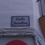 Placa de la Calle Barriollano