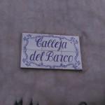 Placa de la Calleja de la Barca