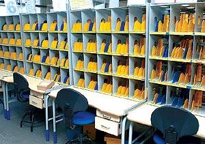 Oficina de correos la rambla aumentada for Oficina de correos tarragona